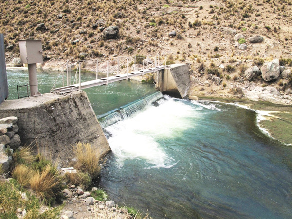 Study of surface and groundwater hydrological resources for the Locumba river basin use plan, Tacna (Peru)