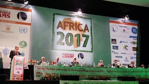 OFITECO was present in the International Conference and Exhibition Water Storage and Hydropower Development for Africa